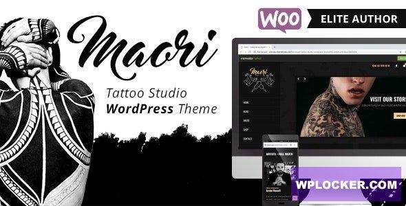 Download free Maori v1.3 – Tattoo Studio WordPress Theme