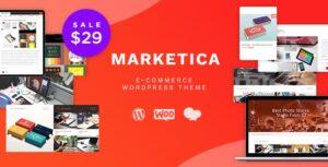 Download free Marketica v4.6.4 – Marketplace WordPress Theme