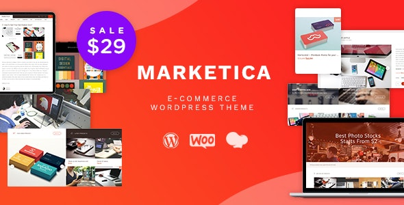 Download free Marketica v4.6.4 – Marketplace WordPress Theme