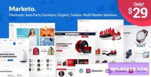 Download free Marketo v2.3 – ECommerce & Multivendor Theme