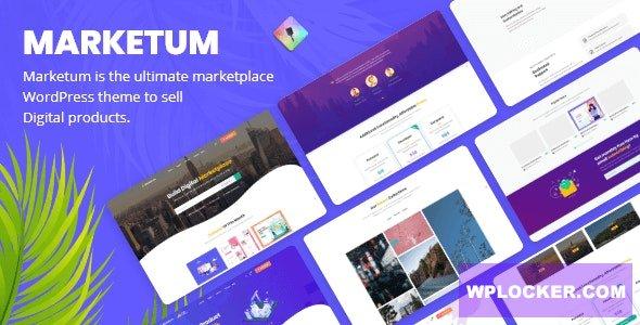 Download free Marketum v1.1.6 – Digital Product Marketplace WordPress Theme