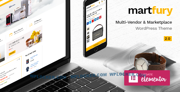 Download free Martfury v2.4.3 – WooCommerce Marketplace Theme