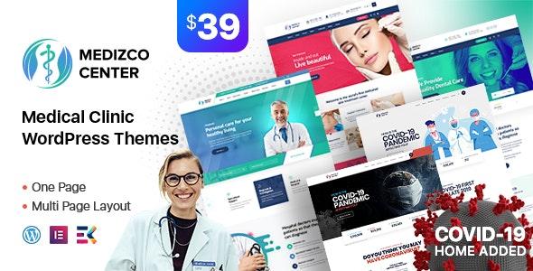 Download free Medizco v1.6 – Medical Health & Dental Care Clinic WordPress Theme