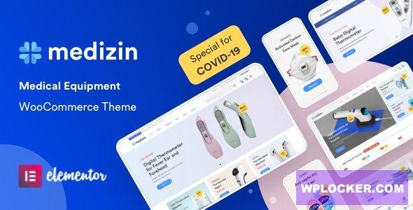 Download free Medizin v1.0.7 – Medical Elementor WooCommerce Theme