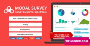Download free Modal Survey v2.0.1.4 – Poll, Survey & Quiz Plugin
