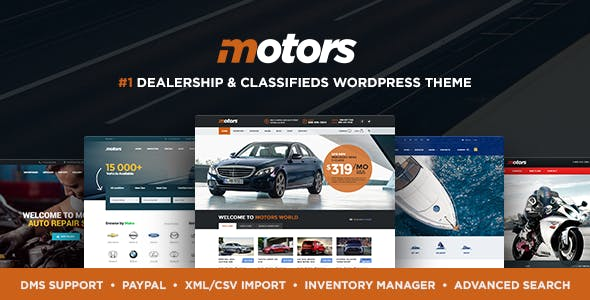 Download free Motors v4.7.7 – Automotive, Cars, Vehicle, Boat Dealership