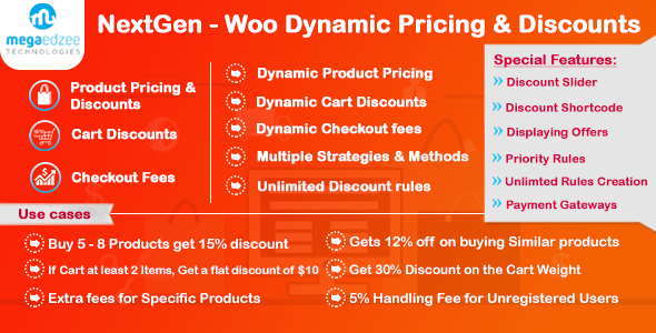 Download free NextGen 5.05 – WooCommerce Dynamic Pricing and Discounts