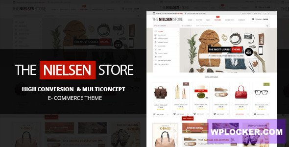 Download free Nielsen v1.9.8 – The ultimate e-commerce theme