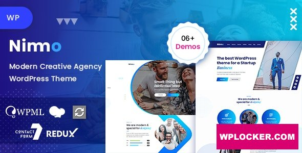 Download free Nimmo v1.1.8 – One page WordPress