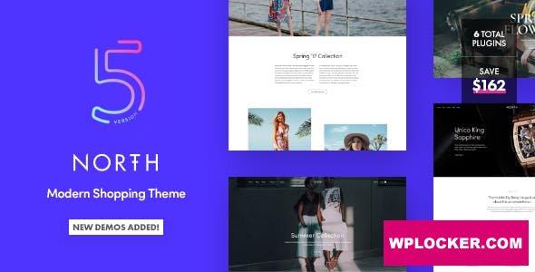 Download free North v5.3.0 – Responsive WooCommerce WordPress Theme