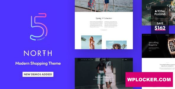 Download free North v5.4.3 – Responsive WooCommerce WordPress Theme