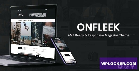 Download free Onfleek v2.0 – AMP Ready and Responsive Magazine Theme