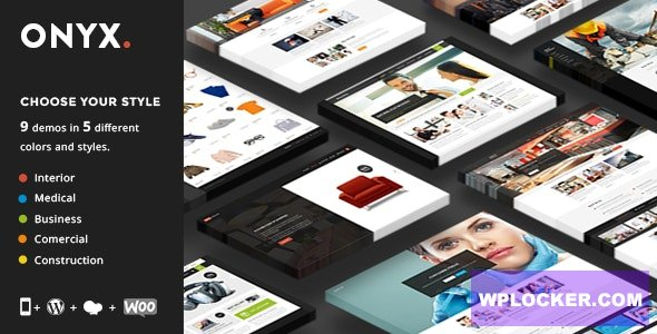 Download free Onyx v3.2 – Multi-Concept Business Theme