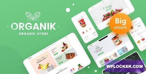 Download free Organik v2.8.6 – An Appealing Organic Store