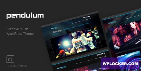 Download free Pendulum v3.0.5 – Beat Producers, DJs & Events Theme for WordPress