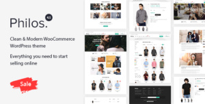 Download free Philos v5.2 – Responsive WooCommerce WordPress Theme
