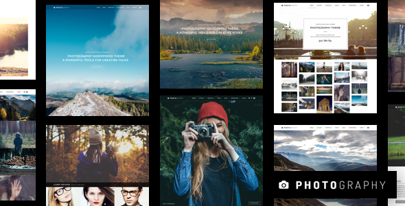 Download free Photography v6.5 – Responsive Photography Theme