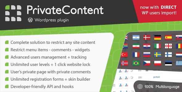 Download free PrivateContent v7.311 – Multilevel Content Plugin