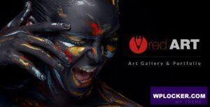 Download free Red Art v1.8.3 – Artist Portfolio