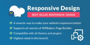 Download free Responsive PRO for WPBakery Page Builder v1.4.0