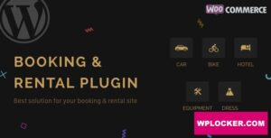 Download free RnB v10.0.3 – WooCommerce Rental & Bookings System