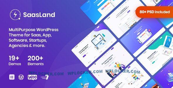 Download free SaasLand v3.1.9 – MultiPurpose Theme for Saas & Startup