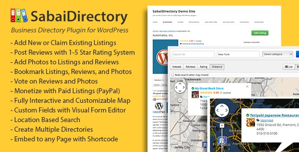 Download free Sabai Directory for WordPress v1.4.9