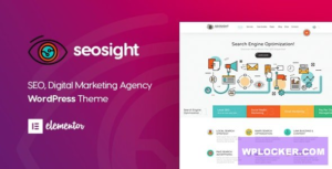 Download free Seosight v4.5 – SEO Digital Marketing Agency Theme