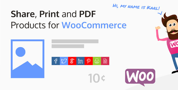 Download free Share, Print and PDF Products for WooCommerce v2.6.2