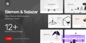 Download free Siemon & Salazar v1.0.5 – Clean, Minimal WooCommerce Theme
