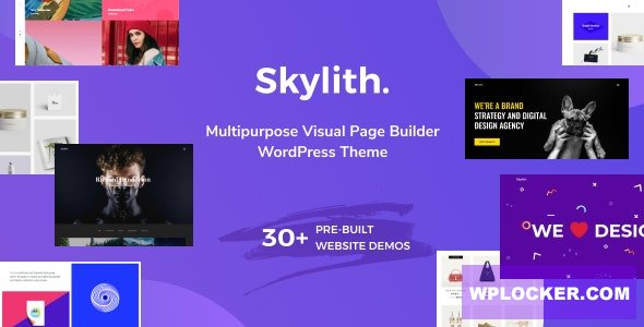 Download free Skylith v1.3.0 – Multipurpose Gutenberg WordPress Theme