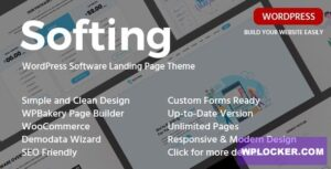 Download free Softing v1.3.3 – WordPress Software Landing Page Theme