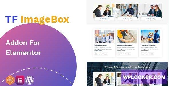 Download free TF ImageBox Addon For Elementor v1.0