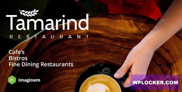 Download free Tamarind v2.0 – Restaurant Theme for WordPress
