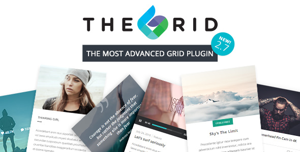 Download free The Grid v2.7.5 – Responsive WordPress Grid Plugin
