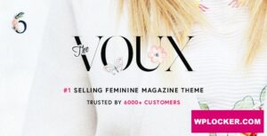Download free The Voux v6.6.2 – A Comprehensive Magazine Theme