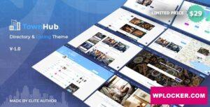 Download free TownHub v1.3.4 – Directory & Listing WordPress Theme