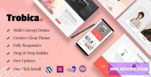Download free Trobica v1.0.4 – Multi Purpose WordPress Theme