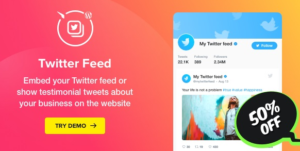 Download free Twitter Feed v1.4.1 – WordPress Twitter Plugin