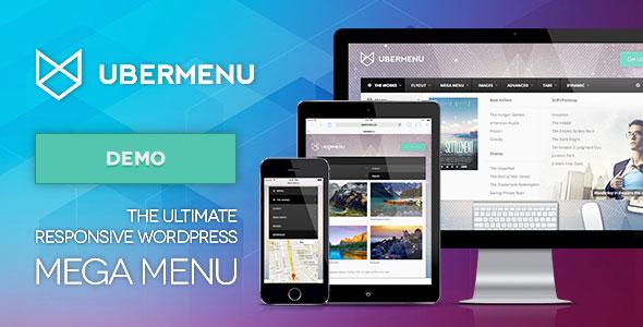 Download free UberMenu v3.7.1 – WordPress Mega Menu Plugin