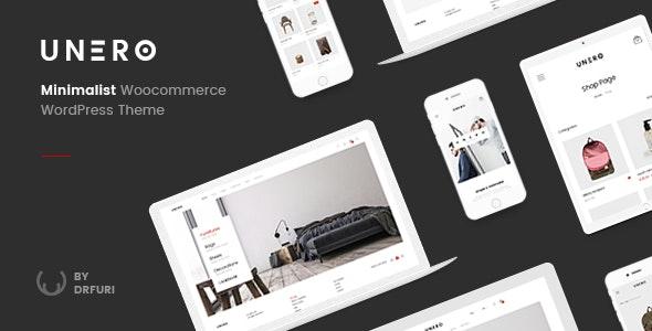 Download free Unero v1.8.7 – Minimalist AJAX WooCommerce WordPress Theme