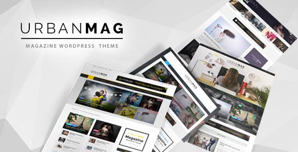 Download free Urban Mag v1.2.2 – News & Magazine WordPress Theme