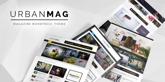 Download free Urban Mag v1.22 – News & Magazine WordPress Theme