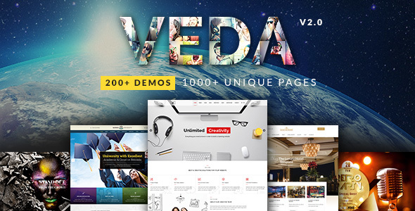 Download free VEDA v3.0 – Multi-Purpose Theme