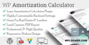Download free WP Amortization Calculator v1.5.5