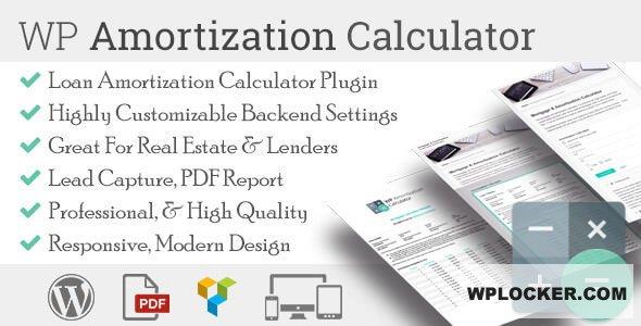 Download free WP Amortization Calculator v1.5.5
