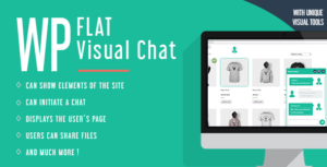 Download free WP Flat Visual Chat v5.391