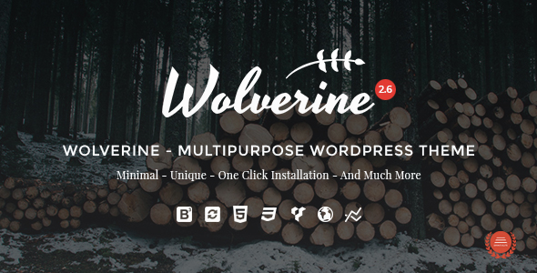 Download free Wolverine v2.7 – Responsive Multi-Purpose Theme