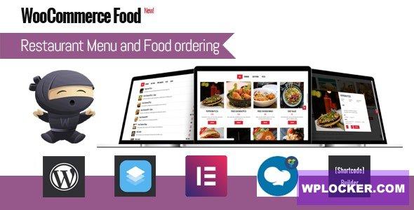 Download free WooCommerce Food v1.4 – Restaurant Menu & Food ordering