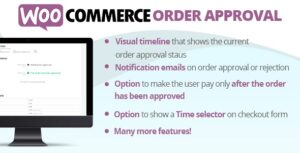Download free WooCommerce Order Approval v3.6